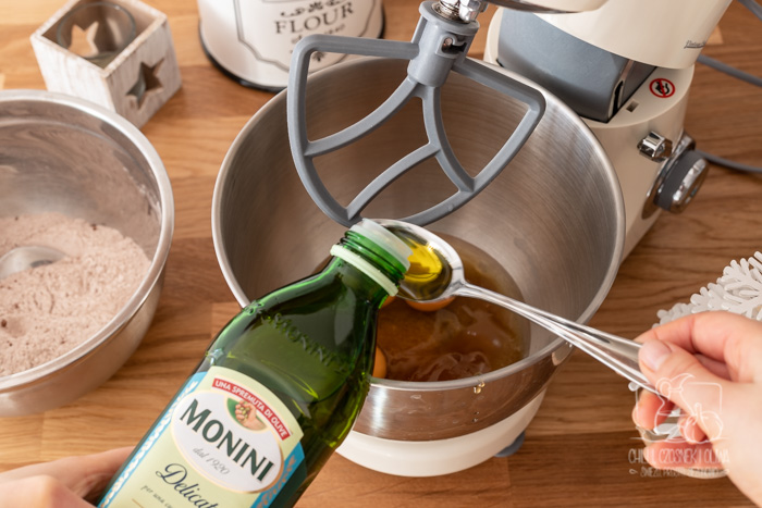 Świąteczny piernik marchewkowy na oliwie  - przygotowanie