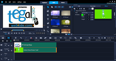 Cara Edit Video Green Screen di Corel Video Studio 2018