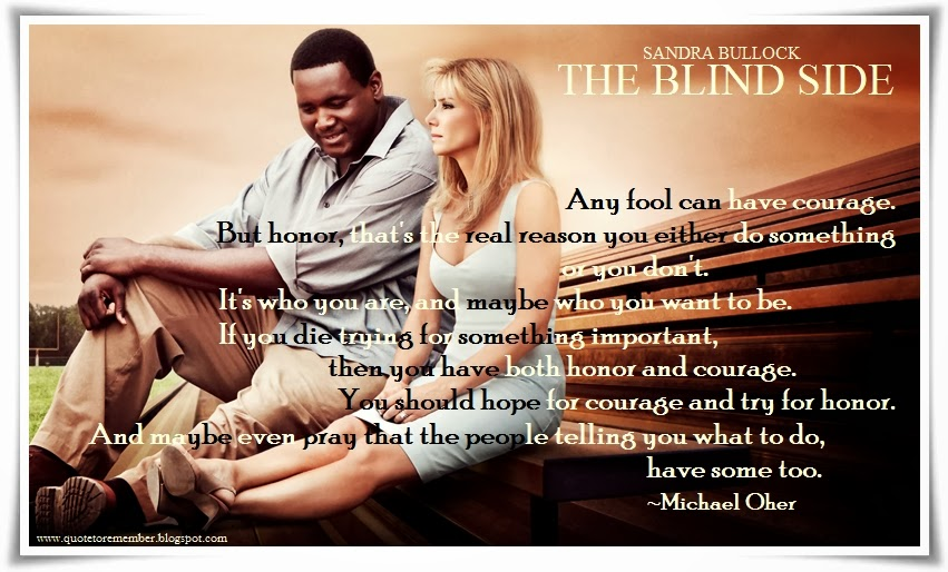 Michael Oher Blind Side Movie