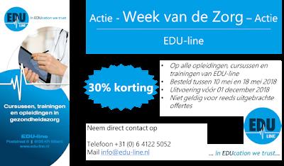Actie EDU-line 30% korting
