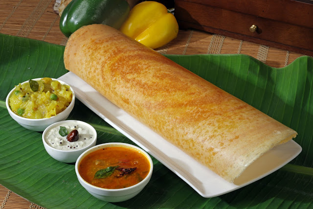The test of India cannot be complete without Dosa and Idli.