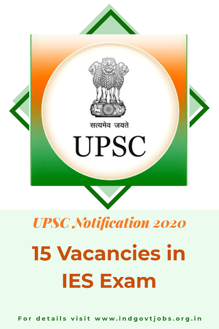 UPSC Notification