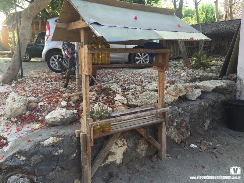 Dirigir em Bali