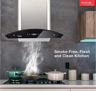 Hindware Nevio 60 Chimney with Auto Clean Function to Keep your kitchen Smoke Free, Clean and Fresh