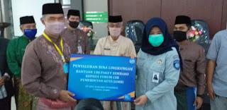 PT Jasa Raharja Persero Jambi Turut Berbagi Ke Masyarakat Kota Jambi.
