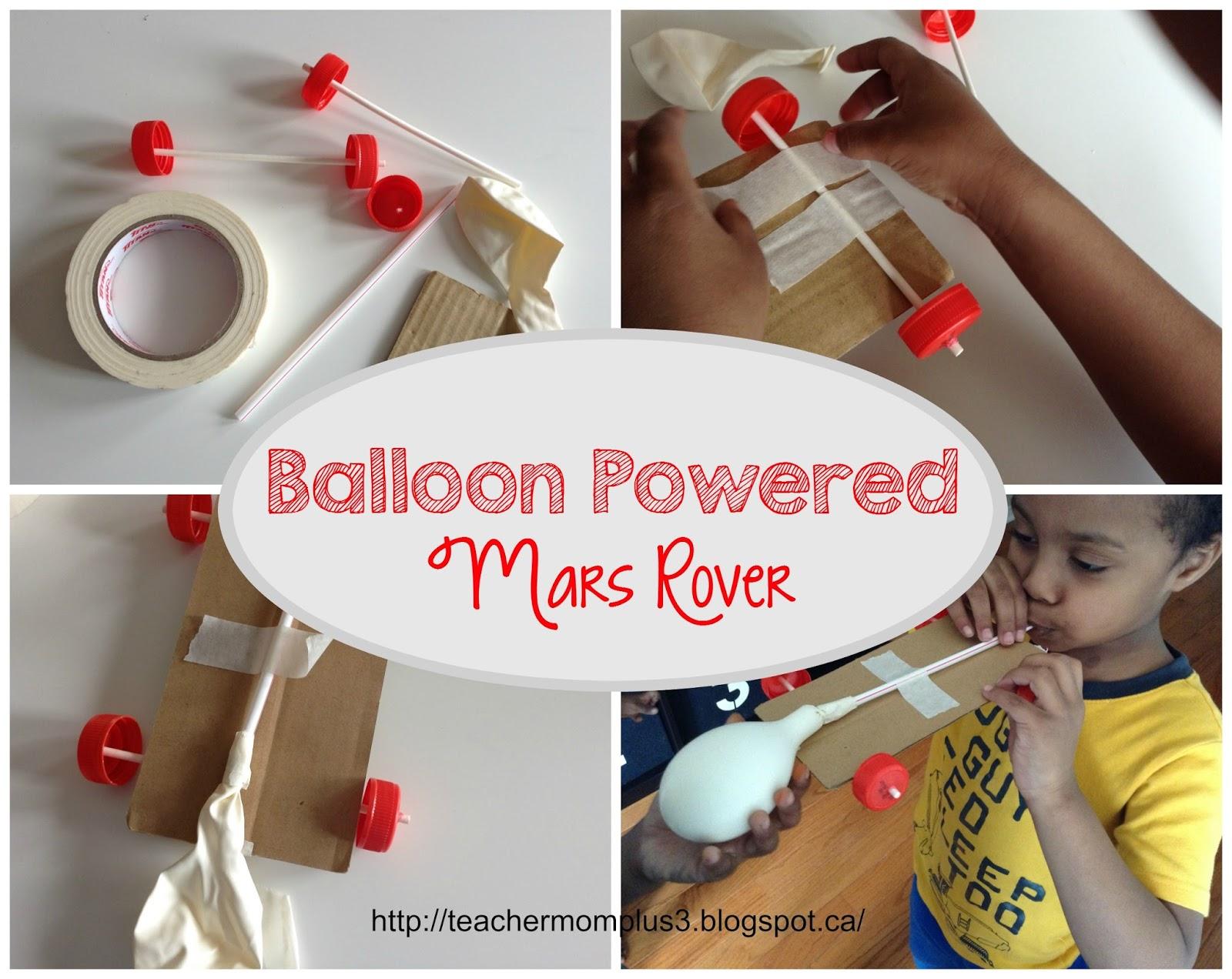 mars rover balloons - photo #6