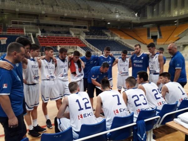 ΕΟΚ | Εθνική Παίδων: Ελλάδα-Ισραήλ 73-73 (Φιλικός αγώνας προετοιμασίας)