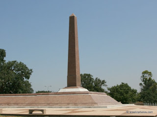 Egyptian obelisk-shaped memorial