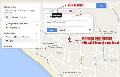 Menambahkan Lokasi di Google Maps Hp Android