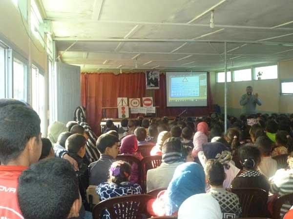 مجموعة مدارس أولاد الحداد تخلد اليوم الوطني للسلامة الطرقية