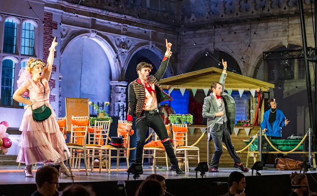 Rossini L'occasione fa il ladro - Laura Fleur, Patrick Alexander Keefe,Sam Harris, Helen Francis Corlett - British Youth Opera