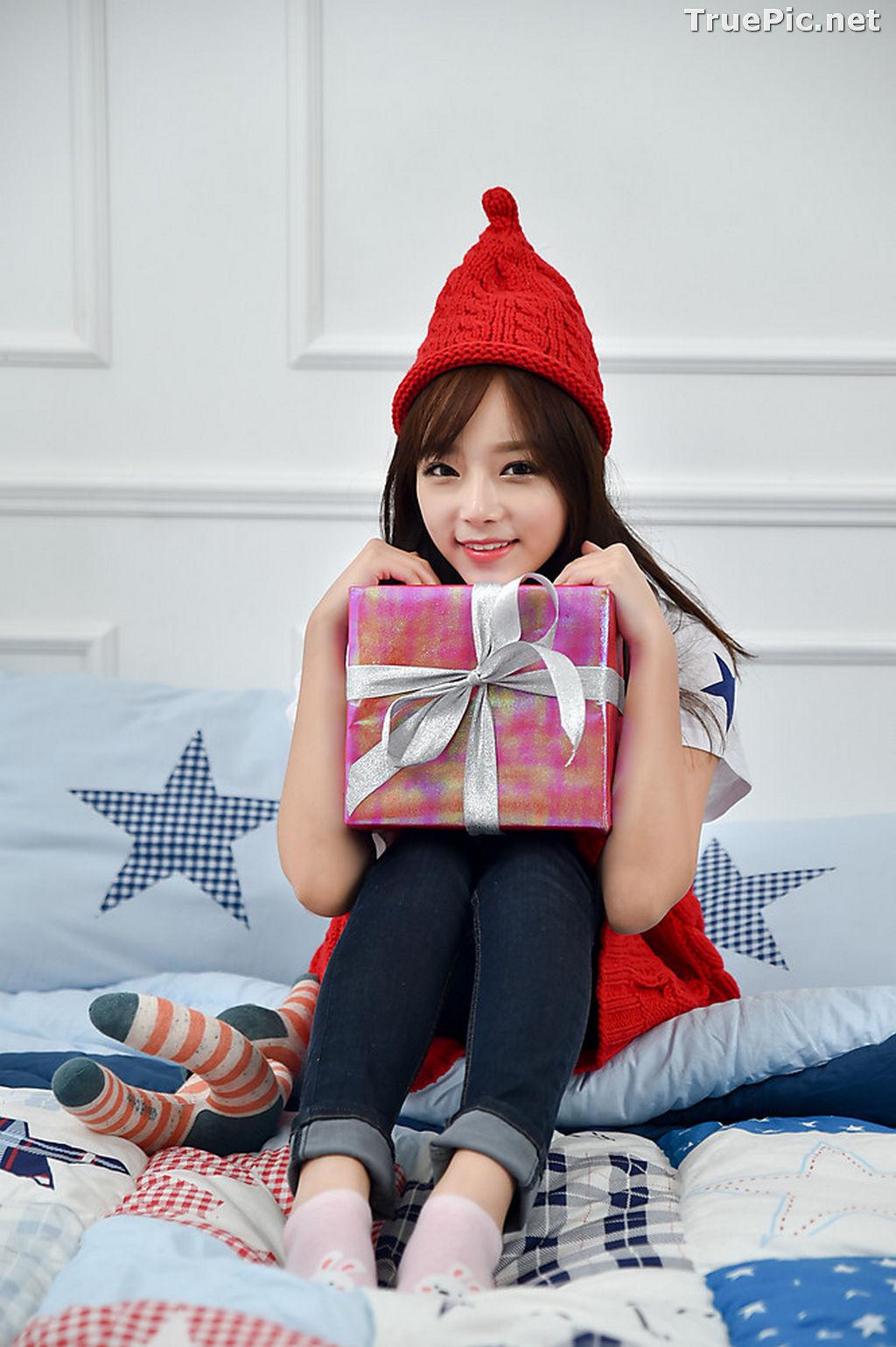 Image Korean Beautiful Model – Ji Yeon – My Cute Princess #2 - TruePic.net - Picture-7