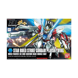 Bandai 85150 0466467 Gunpla Gundam HGBF 009 STAR BUILD STRIKE PLAVSKY Model Kit