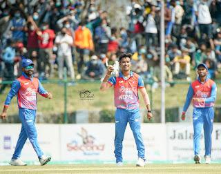 Nepal vs Malaysia 3rd Match Tri-Nation T20I Series 2021 Highlights
