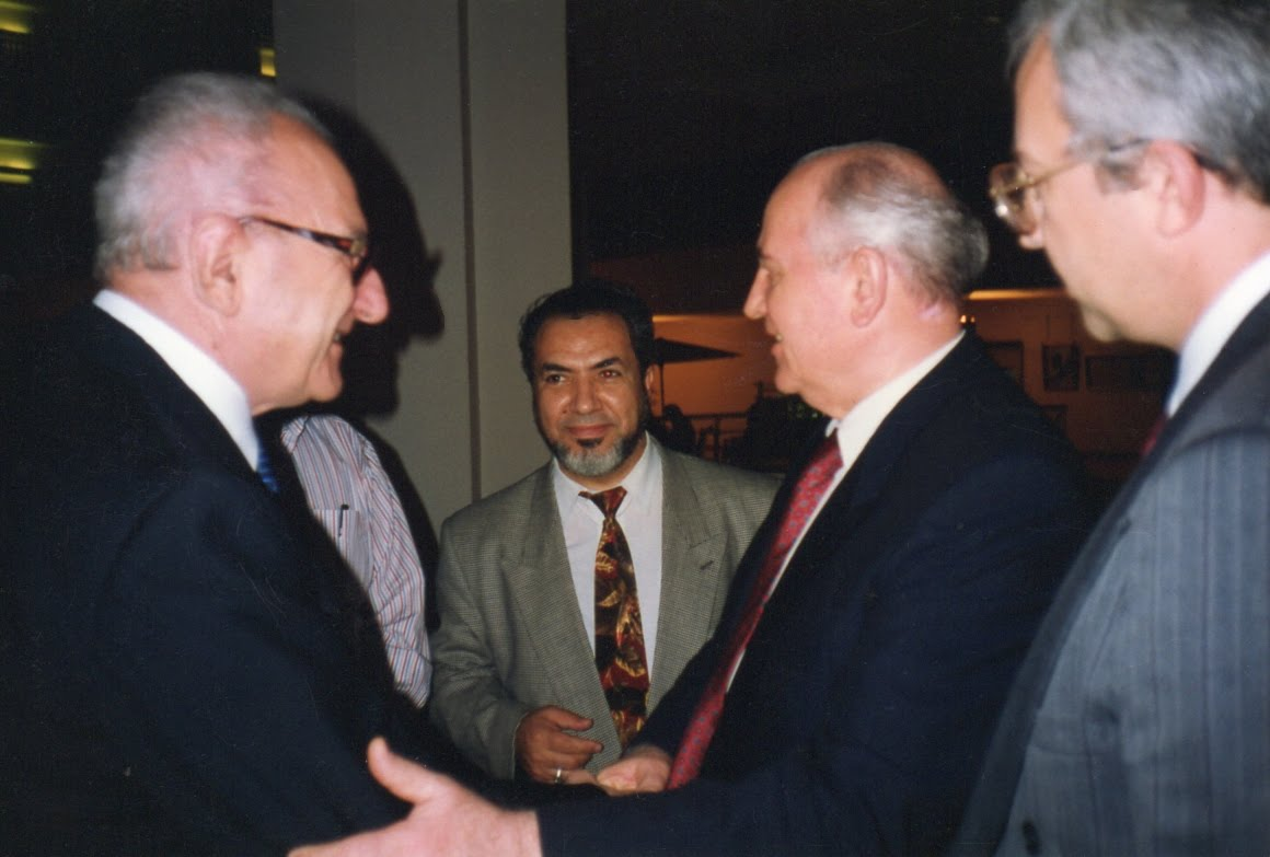 Avec Gorbatchev