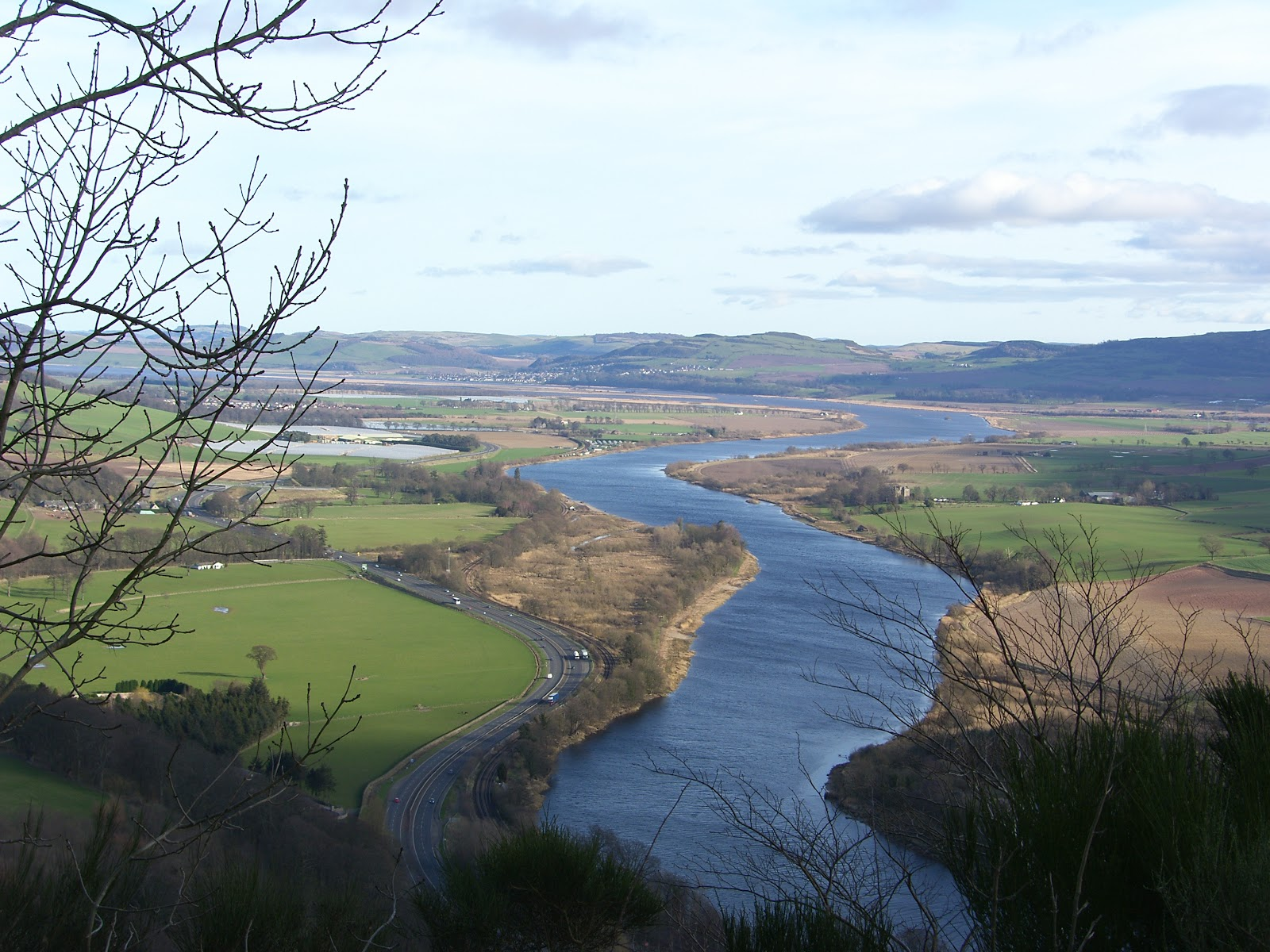 Holiday Apartment Perth Scotland: Views from Kinnoull Hill ...