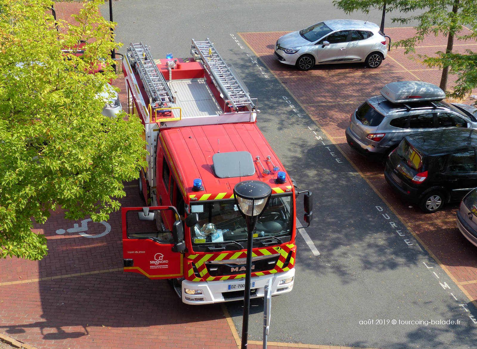 Camion de Pompiers - Complexe Sportif Lagrange, Tourcoing