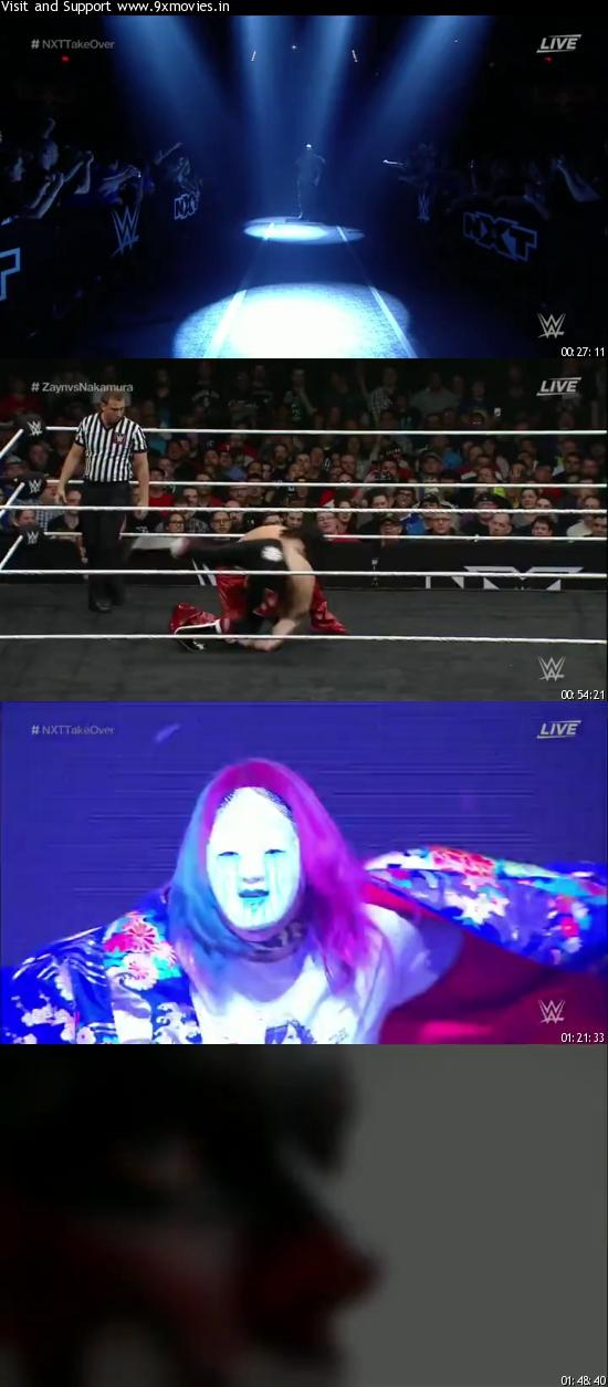 WWE NXT Takeover Dallas 480p WEBRip