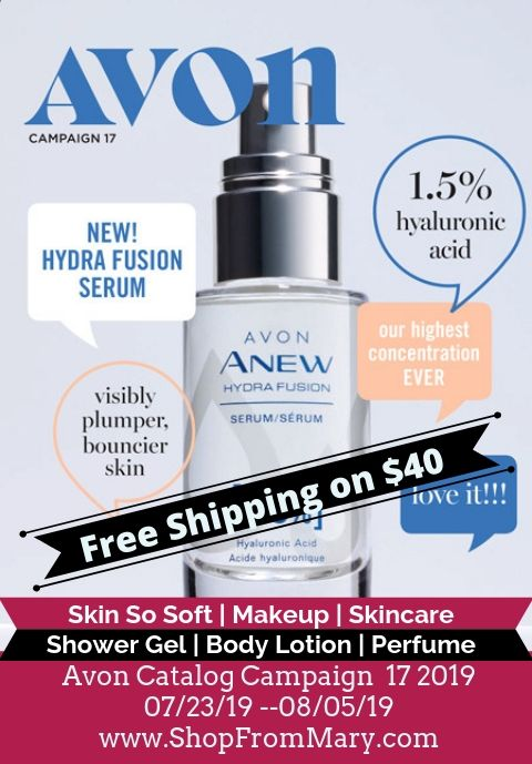 Avon Catalog Campaign 17 2019 - Current Brochure Online
