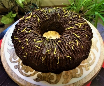 Whole Lemon Cake with Dark Chocolate Frosting (Paleo, Grain-Free, Refined Sugar-Free, GF).2jpg