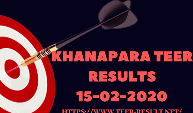 Check Khanapara Teer Results, Common Number Today-15-02-2020