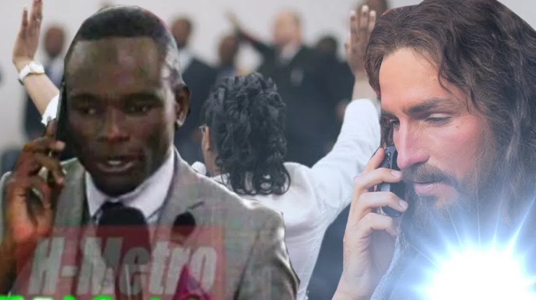 pastor has God's direct phone number