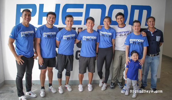 Phenom Elite Training Academy - Bacolod City - Bacolod blogger - Kiefer Ravena - Alyssa Valdez - Bacolod sports facility - scientific performance training - scientific athletic training - Bacolod fitness gym - fitness goals - owners