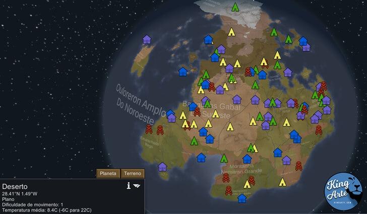 RimWorld - Escolha um bioma