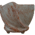 Forma / Molde Fibra de Vidro Fazer Vaso Torcido 06 Lados