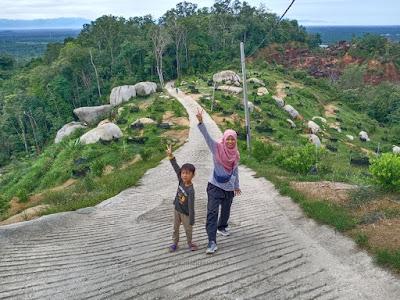 yeahhhh berjaya sampai ke puncak Bukit Limau