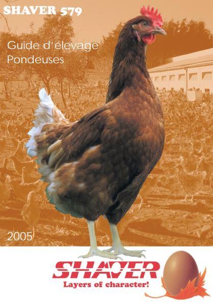 Guide d'élevage pondeuse - Shaver 579 - WWW.VETBOOKSTORE.COM