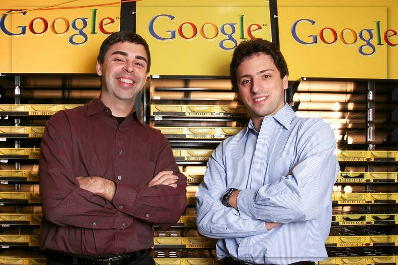 Google founders Sergey Brin and Larry Page leave Alphabet