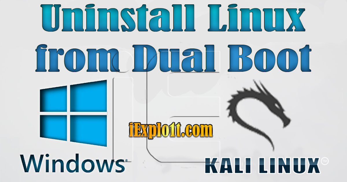 How to Uninstall a Linux Dual-Boot System From Your Computer ...
