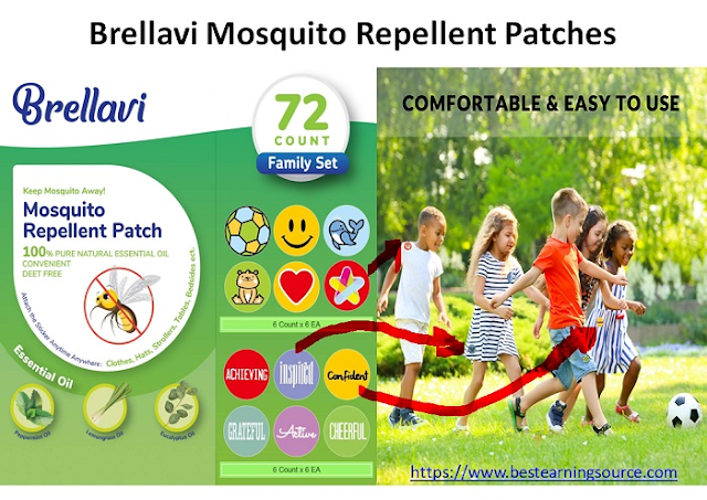 Brellavi Mosquito Repellent Patches