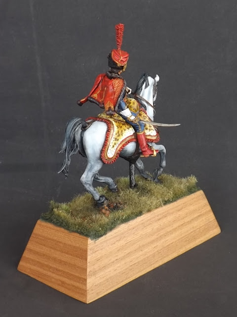 Captain of the Hussars, Elite Company 1806 - 1812 - Pegaso Miniatures 75mm New_1_005