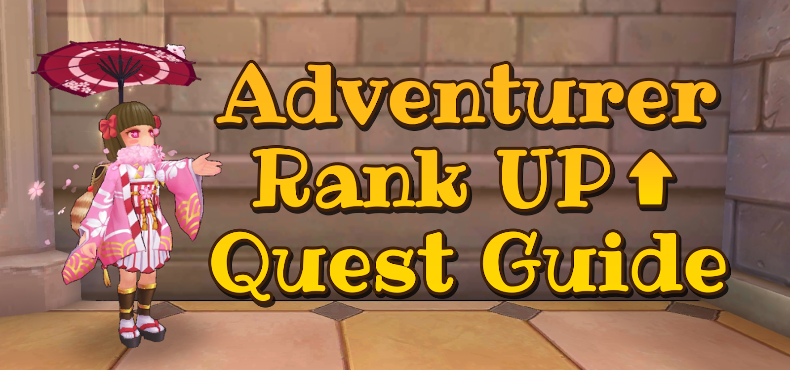 Ragnarok Mobile Adventure Rank Up Quest Guide