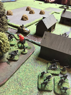 Germans press home their attack