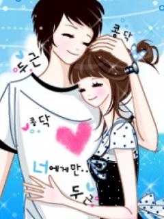 Wallpaper Cute Korean Girl Cartoon Coretan De Irma Anime Korea Cute Couple