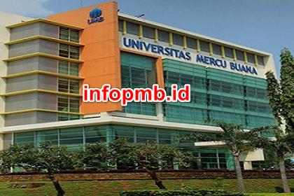 Pendaftaran Mahasiswa Baru Universitas Mercu Buana 2021-2022