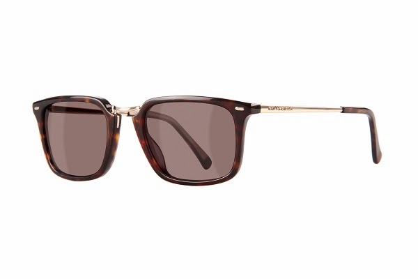 790314b035 Other frame features include gold metal bar with Kameo signature on the  hinge and sophisticated stripes on the temple. Available in Black