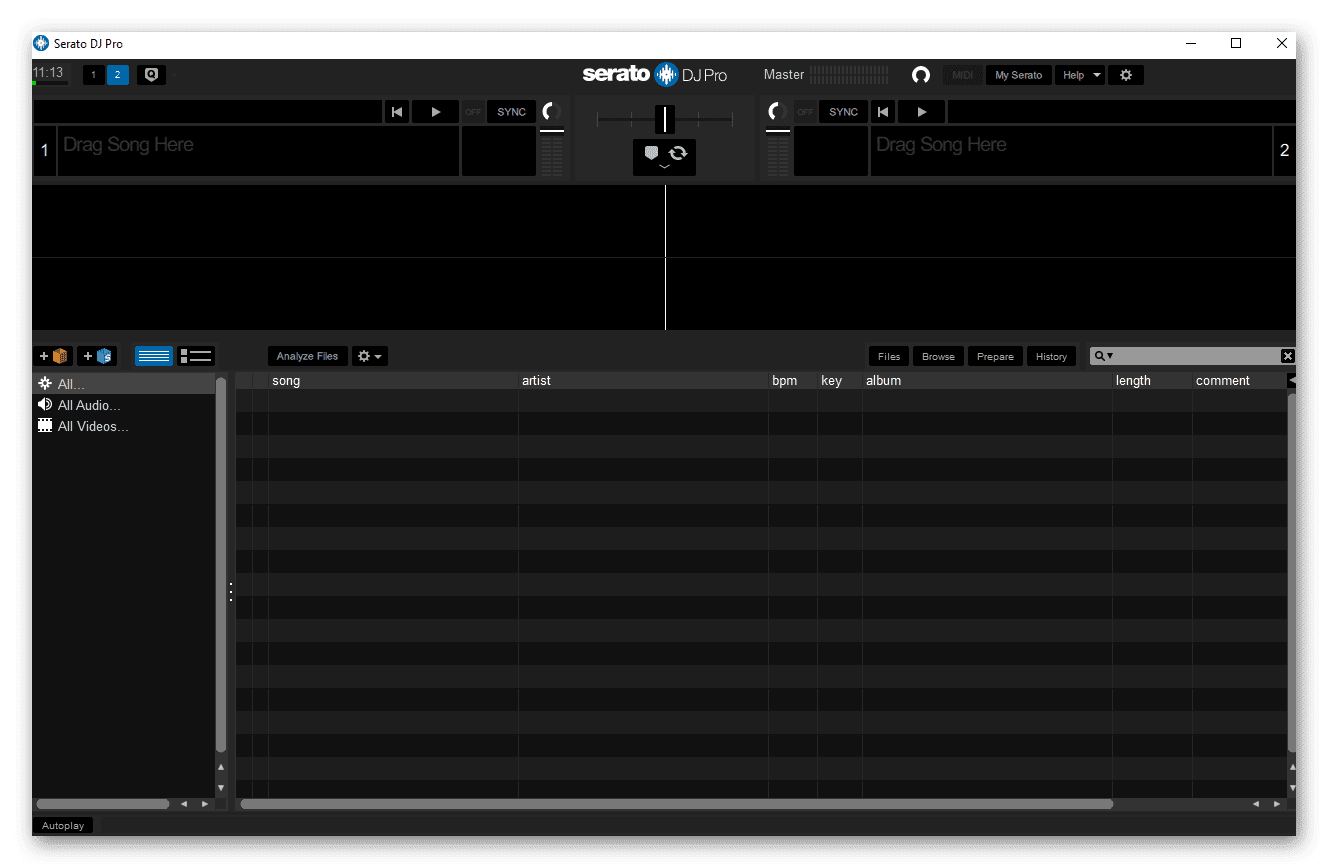 تحميل أفضل برنامج DJ متعدد الإمكانات يوفر أدوات احترافية لخلط الألحان والتحكم فيها Serato DJ Pro 2.3.0 Build 28