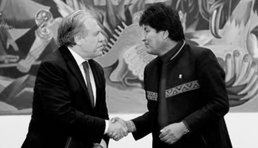 Almagro y Morales fueron cercanos hasta la elección de 2019 / GETTY IMAGES