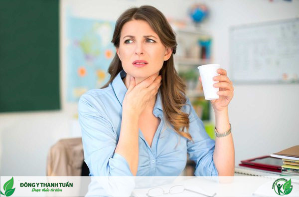 Viêm họng, viêm amidan cũng là nguyên nhân hình thành hôi miệng