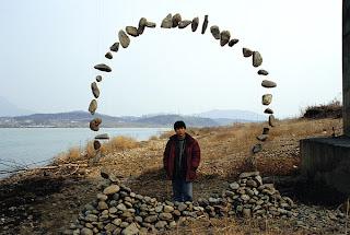 Escultura organica de madera por Jaehyo Lee
