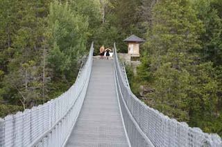 Ranney Gorge Suspension Bridge.