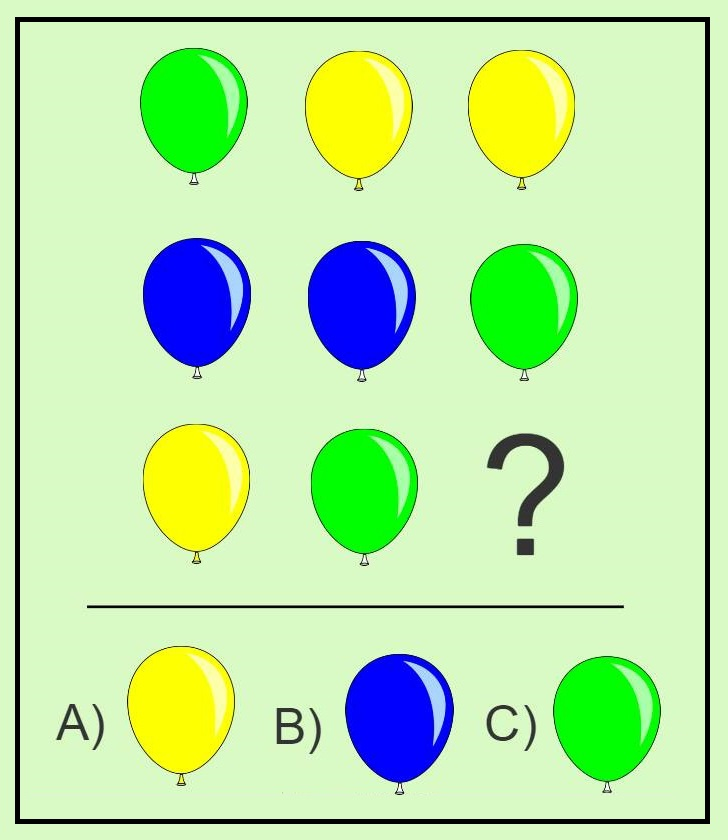 Solve graphical math puzzle