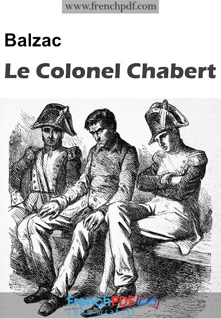 Le Colonel Chabert en pdf par Honoré de Balzac