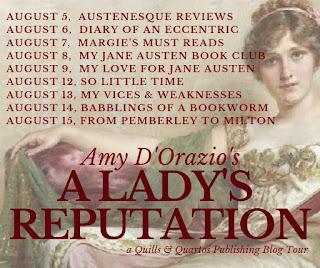 Blog Tour: A Lady's Reputation by Amy D'Orazio