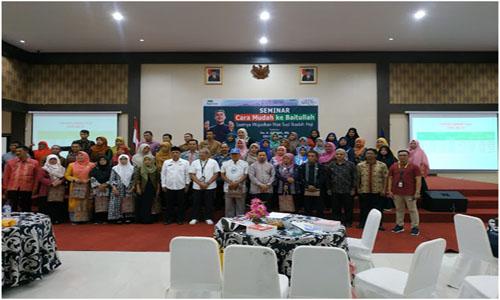 Bersama Pemko Payakumbuh, Pegadaian Hadirkan Seminar Cara Mudah Ke Baitullah
