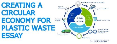 Creating a circular economy for plastic waste essay